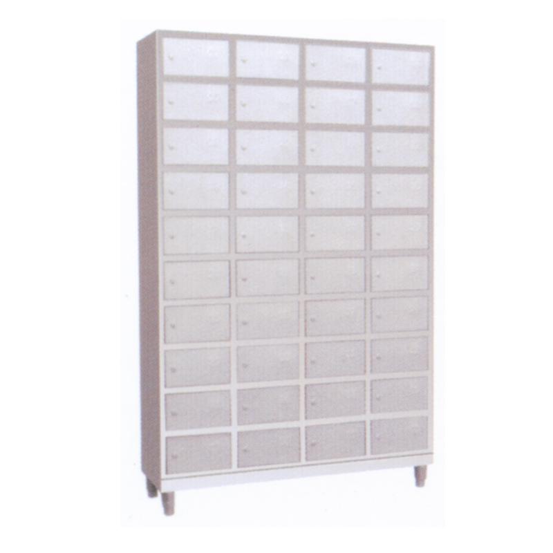 不锈钢四十门碗柜